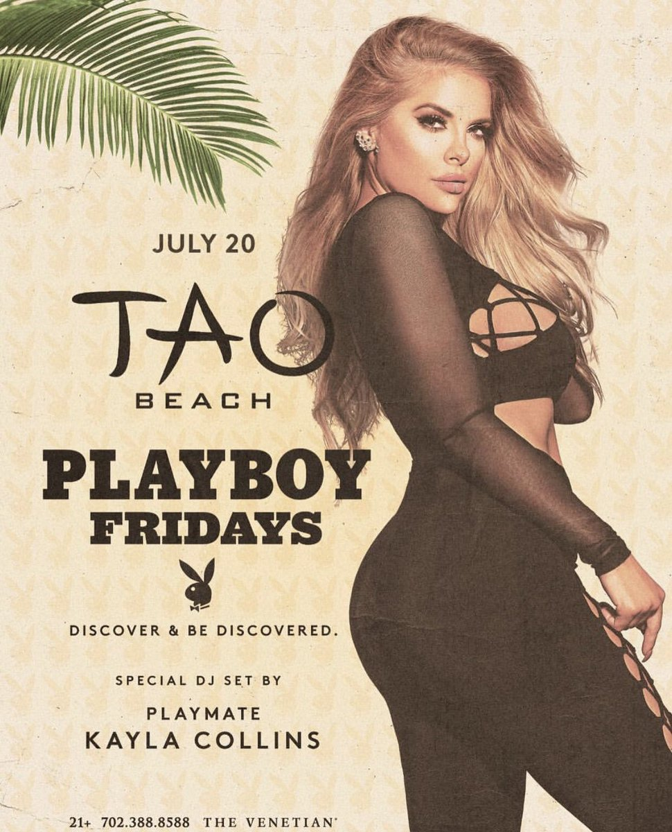 DJing THIS FRIDAY afternoon at TAO BEACH, come out and play! 🖤🔥🎉 8025EY5I0B