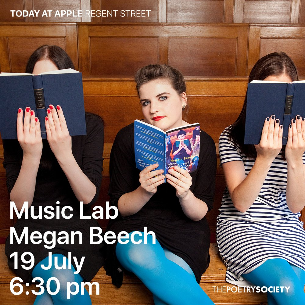 test Twitter Media - This Thursday 19/7 is the latest @poetrysociety workshop at @Apple Regent's St London w/ award-winning poet Megan Beech @MegBeechPoetry on spoken word, social issues and protest poetry. Free workshop 6.30-8pm – just turn up to the store on Regent's St! https://t.co/qd0JGEZLhE https://t.co/xxhvKMoWnk