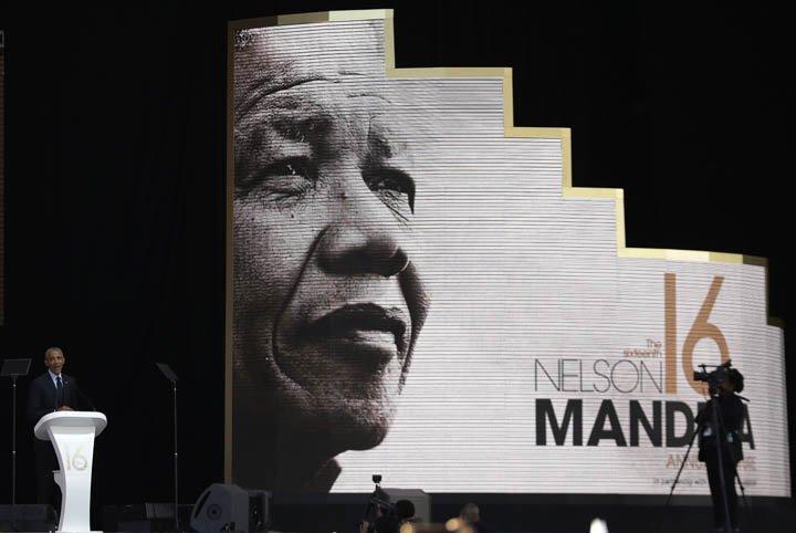 @BroadcastImagem: Obama faz discurso comemorativo pelo centésimo aniversário de Mandela. Themba Hadebe/AP