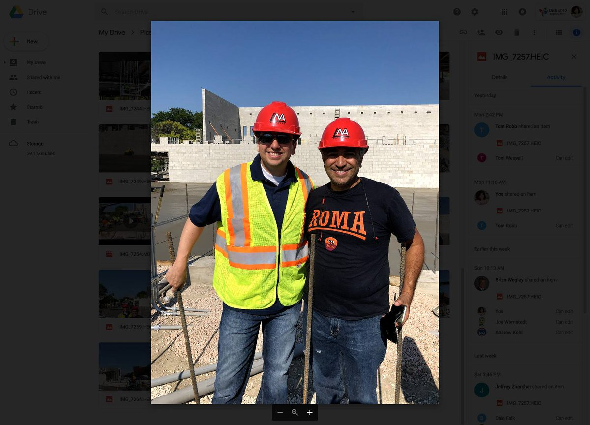 "test Twitter Media - ""The new Maple is really progressing!"" On July 13, Board members I. Riad and J. Zuercher visited the site where the new Maple School is being built by Nichols Construction. They had the opportunity to witness the concrete pour for the new west gymnasium and more. #d30learns https://t.co/CMfqC0w0uw"
