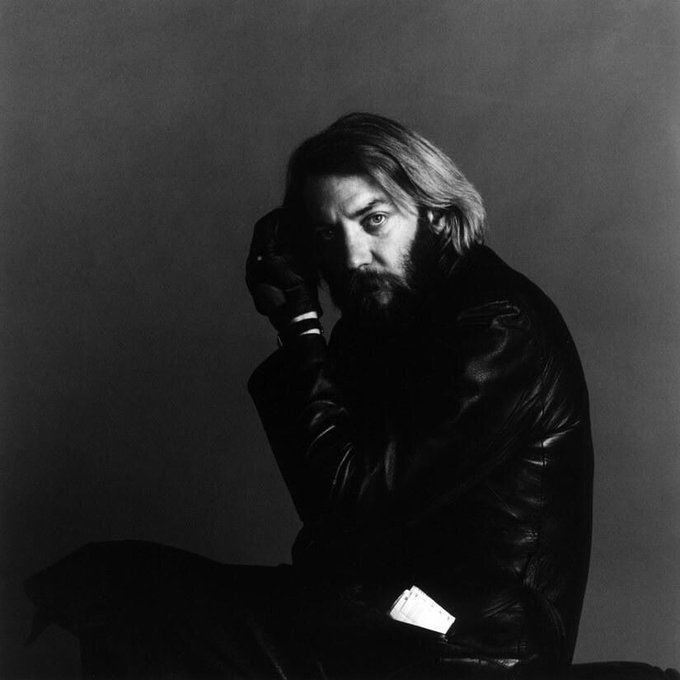 Happy birthday to Donald Sutherland. Photo by Jack Robinson, 1970.