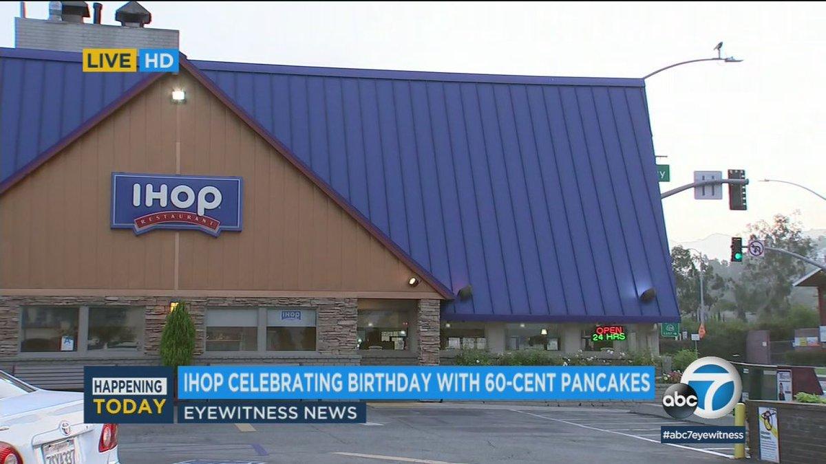 IHOP 60-cent pancakes: Enjoy a ihop 60 cent pancakes