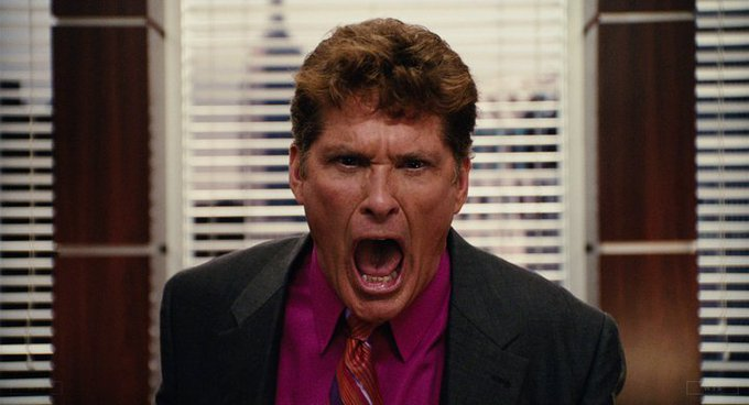 Happy Birthday to David Hasselhoff who\s now 66 years old. Do you remember this movie? 5 min to answer!