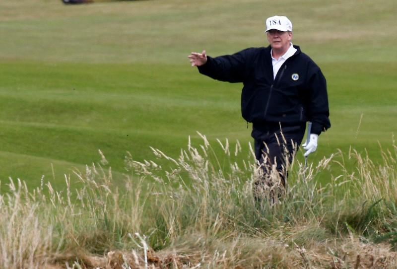 U.S. pays Trump's Scotland golf resort $77,000 ahead of visit