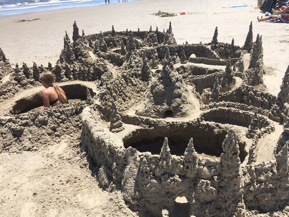 test Twitter Media - While walking on the beach, I came across a beautiful maiden who built not only her own castle but an entire Kingdom.  So much creativity only to disappear with the tide. What remains is a memory and the joy of seeing  this magical world.  #fantasyfan  #fantasynovel https://t.co/tClSeqhT9W