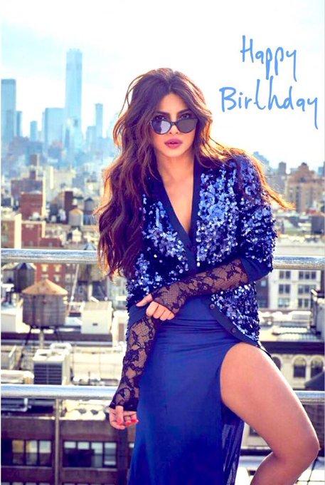 Happy Birthday Priyanka Chopra I Love Youu soooo Soooo Much          Biggest Fan