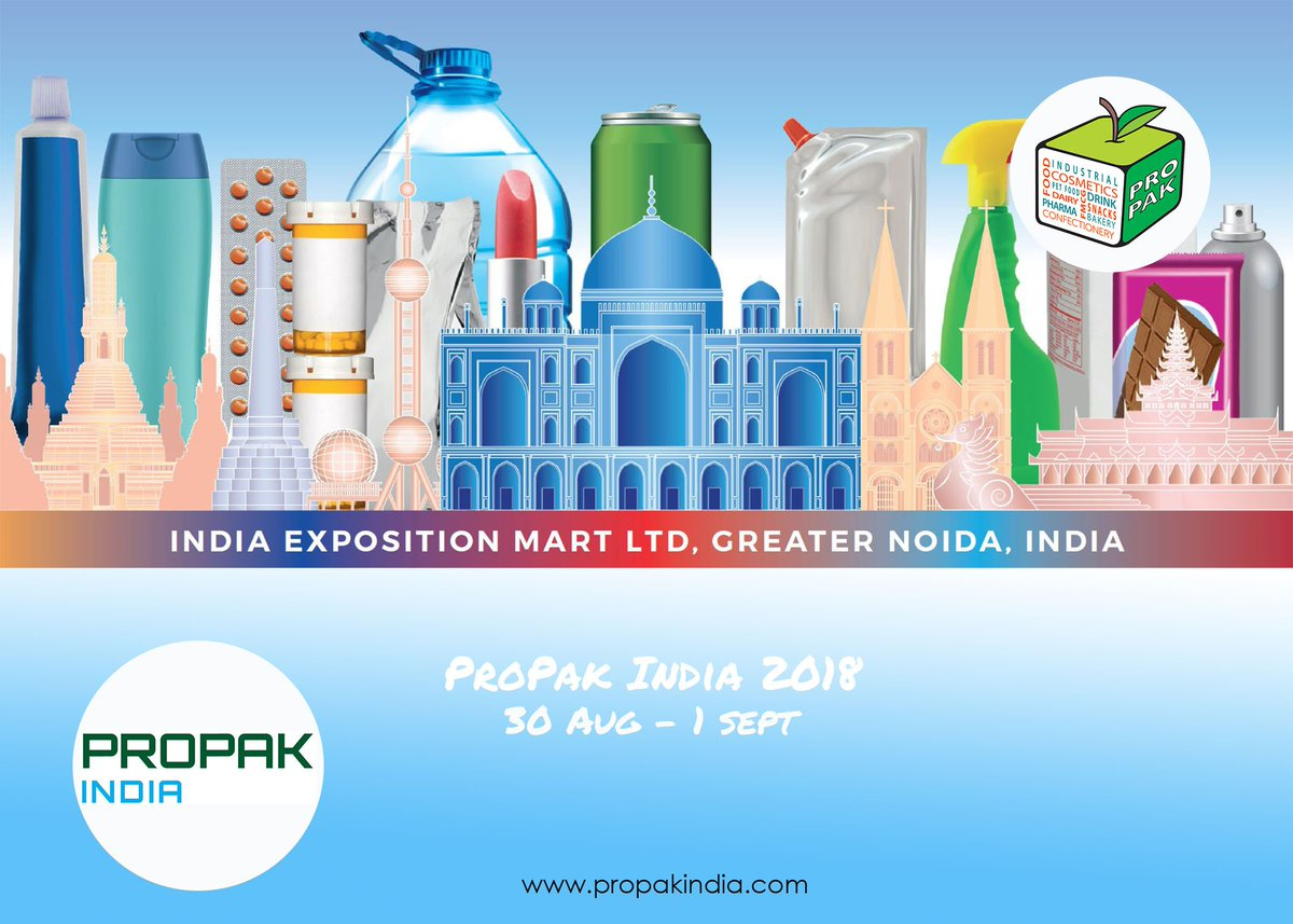 test Twitter Media - ProPak India arrives in Greater Noida this August for the inaugural edition! Get in touch to make the most of the emerging Indian market and exhibit at the show https://t.co/fUeuq1inyd #propak #propakindia @ProPakIN https://t.co/fwLnMiD0WJ