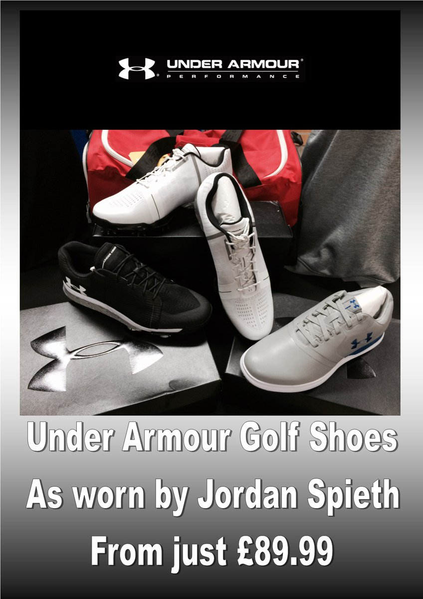 test Twitter Media - AVAILABLE FROM MONDAY 16TH JULY  #TheOpen #SpecialOffer   @UnderArmour @JordanSpieth 2.0 #Golf Shoes just £109.99!! £50 OFF!!!  HURRY!! Limited Stock Available.  For more information visit https://t.co/sjYK8ua007  or call us on 01446 781781 (opt. 1) https://t.co/T0cRnQ7BVU