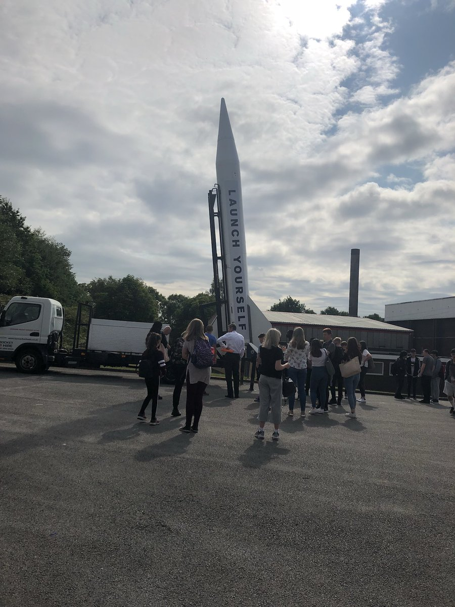 test Twitter Media - Learners are being treated to a visit from starchaser for enrichment day in science.  A real rocket which is usually flying in space has parked up in the yard! #enrichment https://t.co/gw56m8vQY5