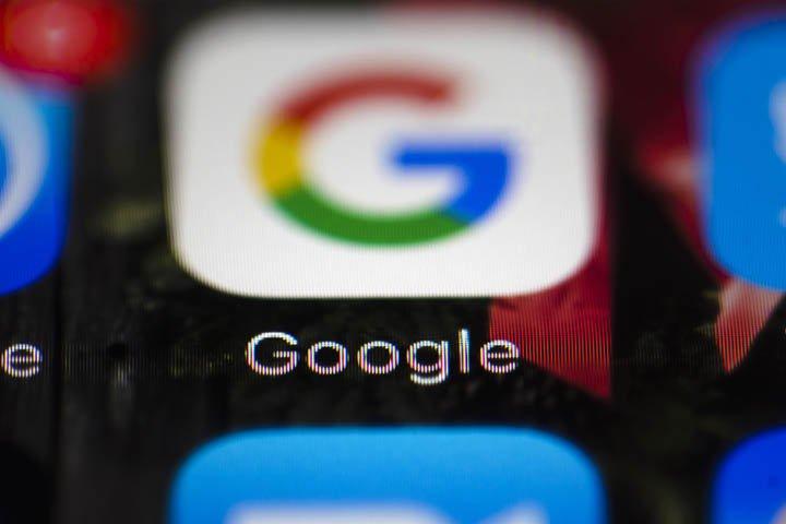 @BroadcastImagem: UE confirma multa de 4,34 bi de euros contra Google em caso do sistema Android. Matt Rourke/AP
