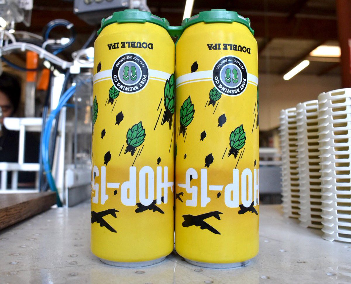 test Twitter Media - Bombs away!!! Hop-15 cans are here, 19.2 oz of hoppy goodness! Two-packs (or is spelled Tupac?) are available in our San Marcos Tasting room and soon Cardiff. Snag yours soon! https://t.co/kuzARzc851