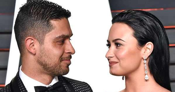 Demi Lovato's first love Wilmer Valderrama is by her side.