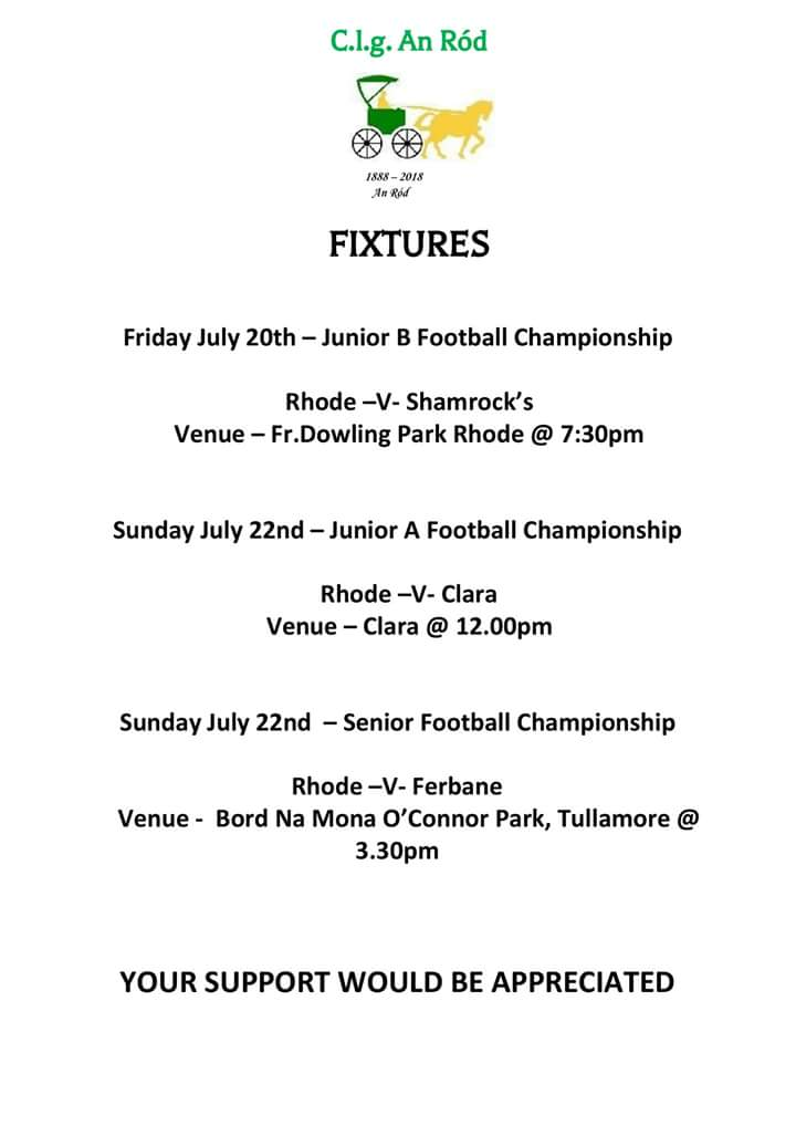 test Twitter Media - This weeks Adult Championship Fixtures  💚💛 https://t.co/HkSWFr5kDa