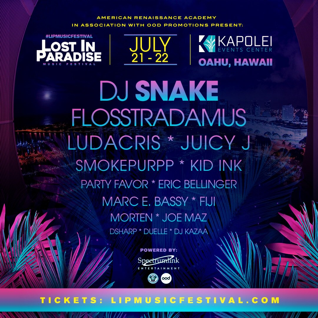 Let's go! This weekend Hawaii! @lipmusicfestival #LIPmusicfestival Tickets at https://t.co/MmQW8d2DCM https://t.co/choN5VL8tu