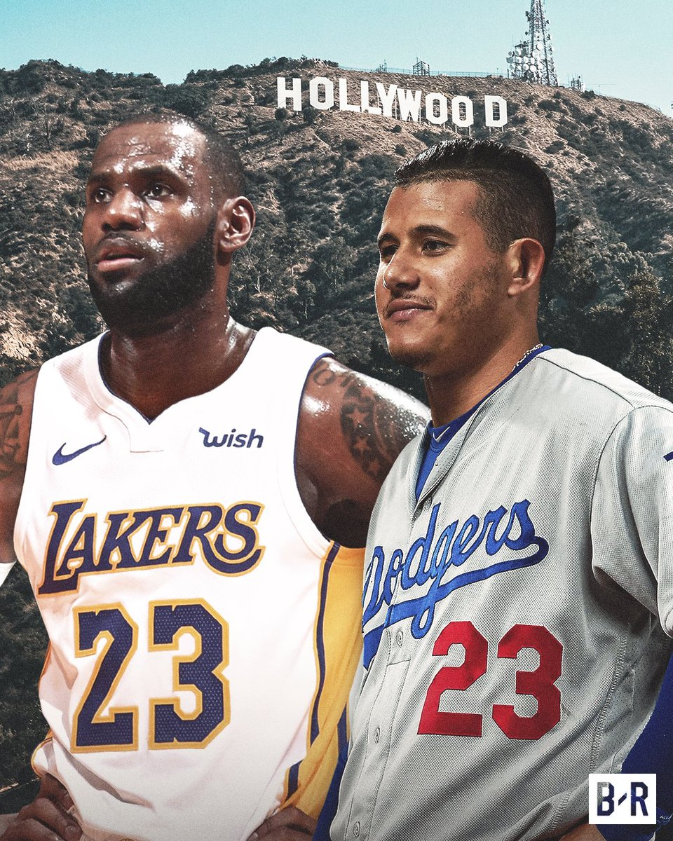 RT @BleacherReport: First @KingJames, now Manny Machado. What a summer for LA sports 😳 https://t.co/NhXI24V8j0