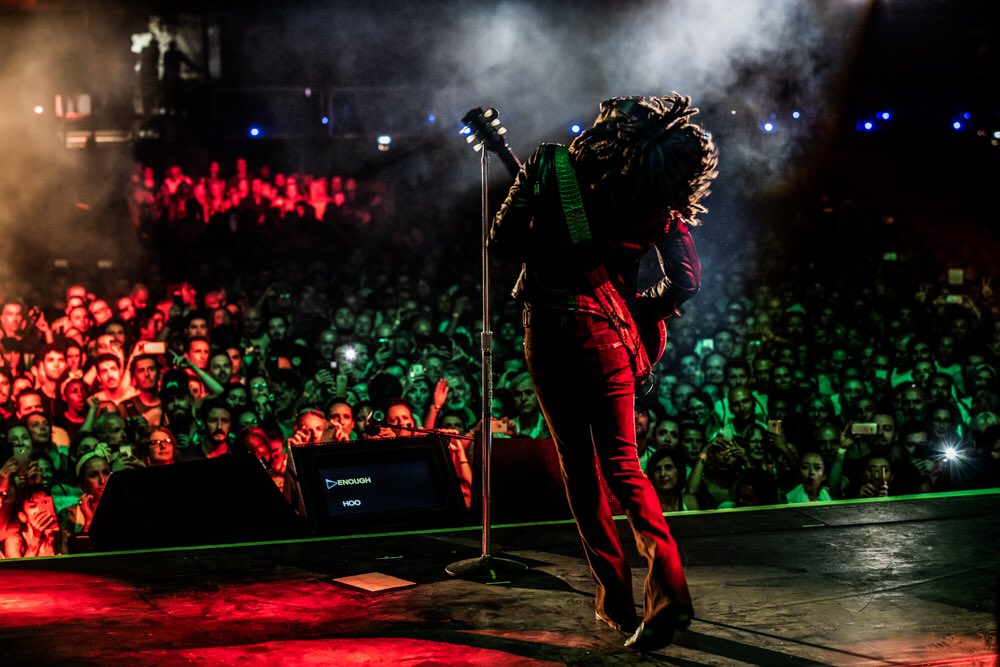 One more from Lucca. #RaiseVibrationTour2018 ????: @candyTman https://t.co/ccrcEROWfE