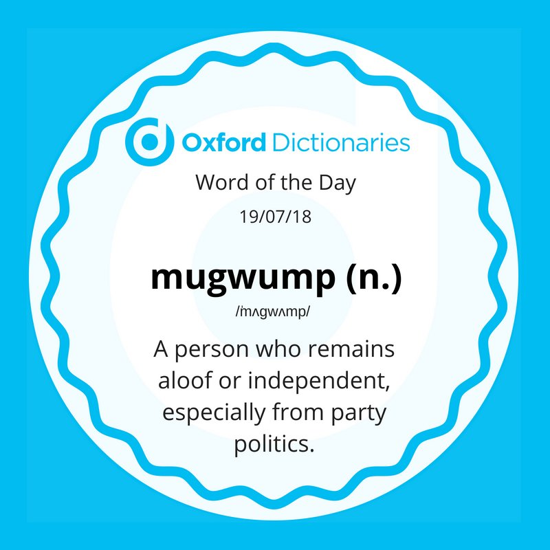 test Twitter Media - Word of the Day: mugwump https://t.co/ykbbOWlIoy https://t.co/1Irl1YwsXx