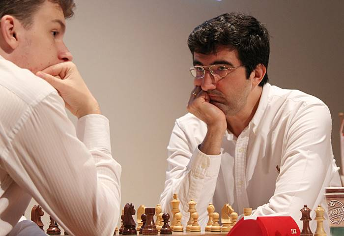test Twitter Media - Vladimir Kramnik is right back in the hunt to win an 11th Dortmund title after handing a lesson to rising star Jan-Krzysztof Duda! https://t.co/SKymZ5czDM #c24live https://t.co/ZvbiUQQZ0g