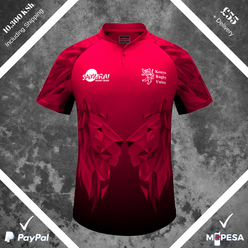 test Twitter Media - *NEW STOCK* @OfficialKRU shirts now available to purchase using MPESA, 10,300 KSh including shipping to Kenya or £55 + carriage for EU and International customers! Limited stock! Get yours before they're gone!>>https://t.co/u3jCNpux0K #RugbyWorldCup7s https://t.co/Hp5C2SMsNB