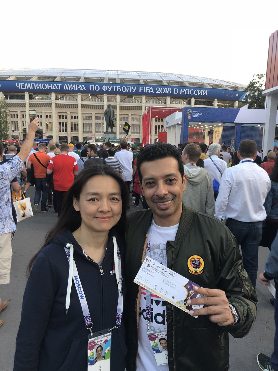test Twitter Media - RT @almodiahki: One more picture from #FifaWorldCup2018 with my treasure! https://t.co/GjM2JtBM1X