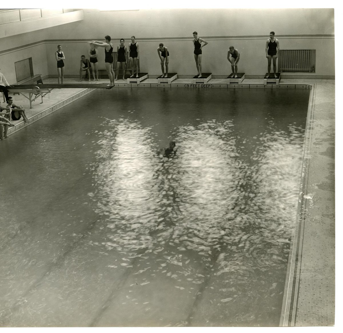 test Twitter Media - #TBT Did you know Fayerweather used to have a pool? It was built in 1913 when Fayerweather was a gymnasium! Converted to Fayerweather Hall in 2005, the building now houses a ballroom, catering kitchen, and dance studios.  📷: Wesleyan Special Collections & Archives. https://t.co/X3Znrevuey
