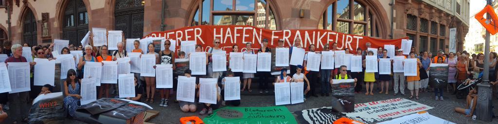 RT @tozan_hilmi: #seebruecke statt Seehofer in Frankfurt... https://t.co/wJEg2t2M9C