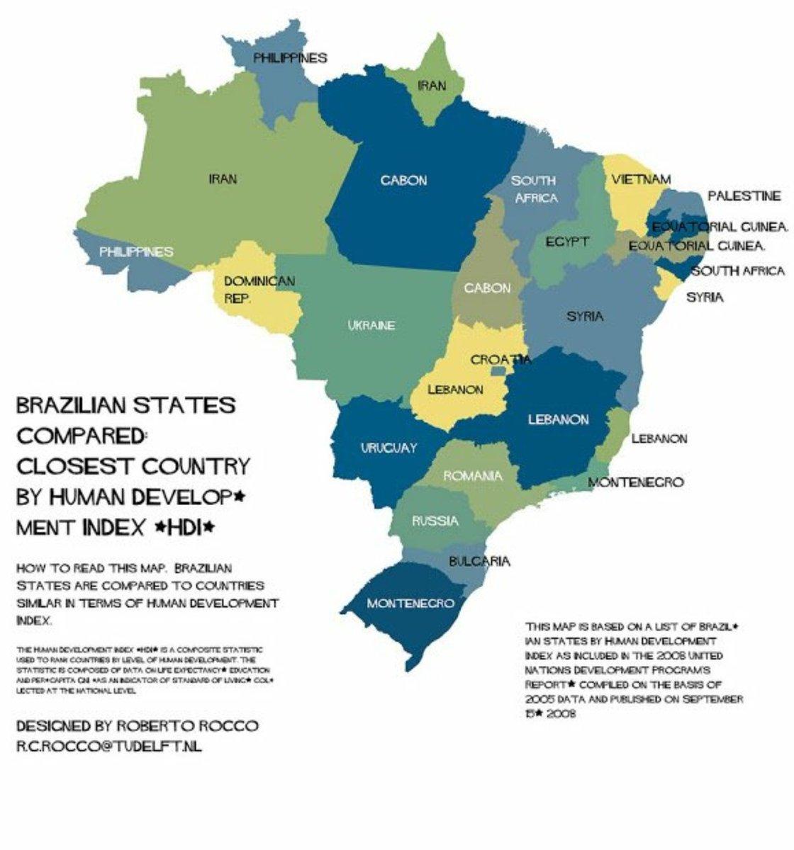 Só olhem o comparativo de estados brasileiros com países. Depois olhem o Paraná. Pois é https://t.co/ndZdMsFR6B