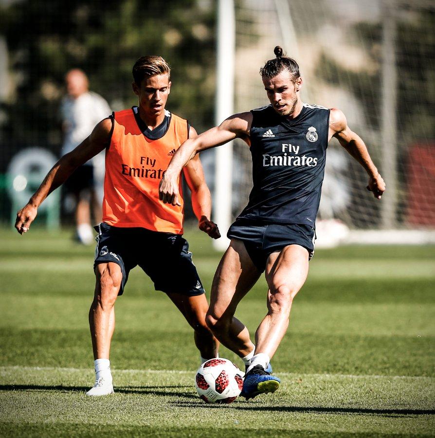 RT @brfootball: So Gareth Bale hasn't been skipping leg day this summer 😳 https://t.co/Uu7lJxD5Du