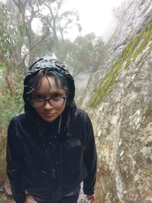1 pic. I went hiking in the pouring rain plz tip me so I can buy waterproof stuffz 64OW