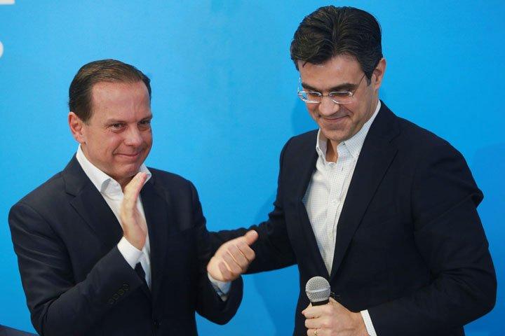 @BroadcastImagem: Lançamento da chapa de João Doria (PSDB) e Rodrigo Garcia (DEM) ao governo de SP. Werther Santana/Estadão