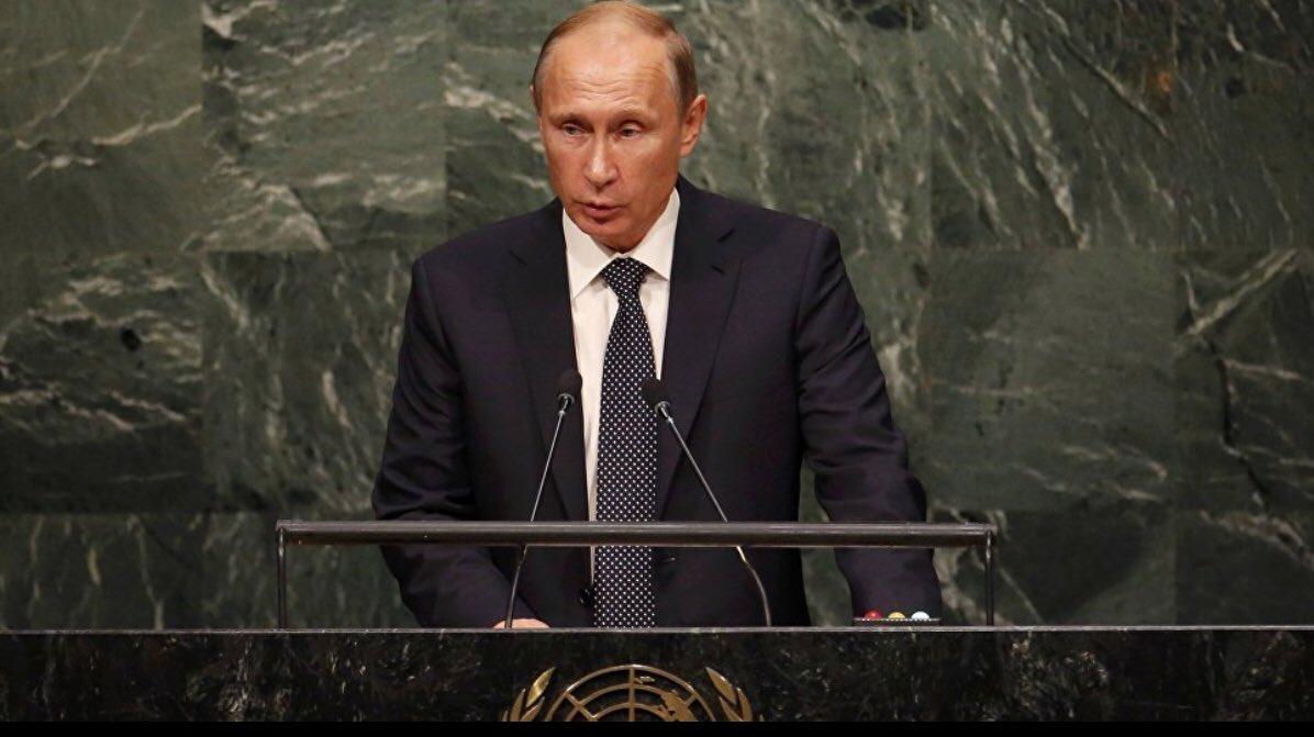 test Twitter Media - #TrumpPutin Will Putin come to UNGA ~ meet there? Last speech at General Assembly 2015 @realDonaldTrump @KremlinRussia_E @USUN @RussiaUN https://t.co/uHRGY4OclO