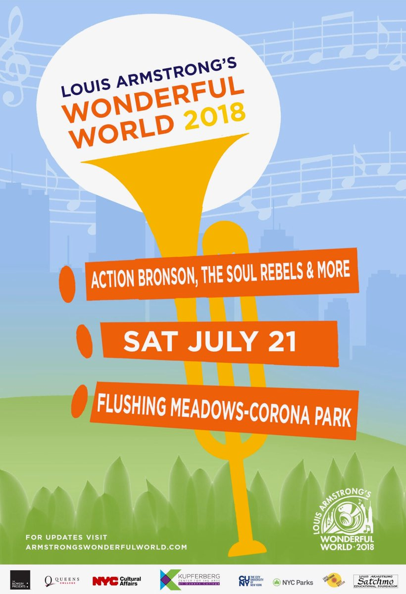 FREE SHOW TMRW IN FLUSHING MEADOWS PARK!!!!! https://t.co/GZGnNDobWt