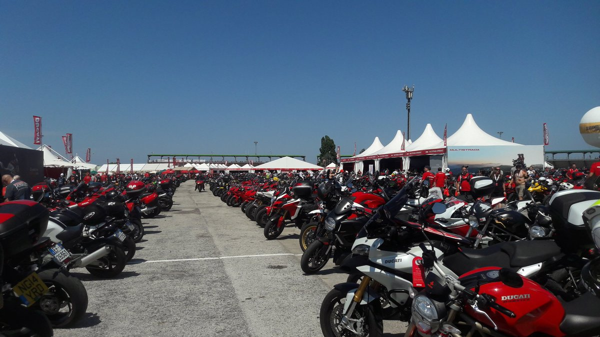 #WorldDucatiWeek