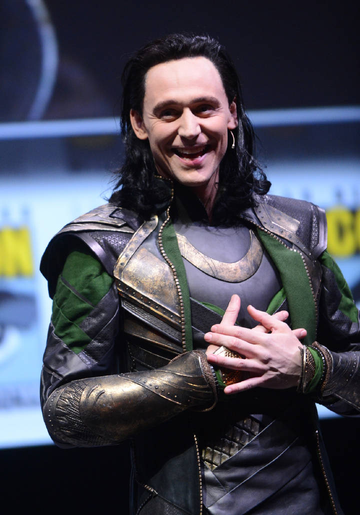 Tom Hiddleston como Loki en Hall H de #SDCC. Julio 20, 2013  #SayMyName #LokiDay  Vía Torrilla 4 https://t.co/lXEUbB4Id8