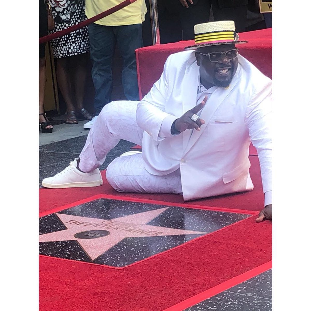 test Twitter Media - Big Congratulations @CedEntertainer on your ⭐️!! You've always shined brightly in our eyes, Glad now all of #Hollywood sees it too! #Represent ✊🏽 https://t.co/sBcVCQCsMC
