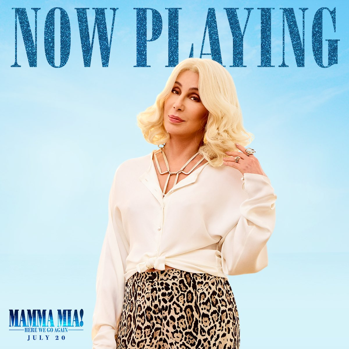 You've got glitter in your veins! #MammaMia2 is now playing! Get tickets now ???? https://t.co/S3pY1V1uU4 https://t.co/TFXf5uhQTm