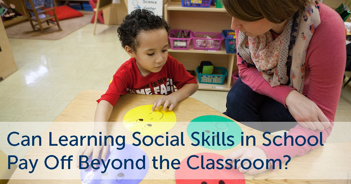 test Twitter Media - Can Learning Social Skills in School Pay Off Beyond the Classroom? (RWJF) https://t.co/AwclbPjnvu #thrive #SEL #SocialEmotional #learning #EQ #Bullying #SchoolCulture https://t.co/YZBQvW3KTe