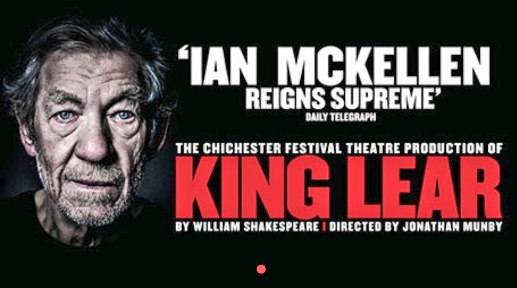 test Twitter Media - Finally I'm on my way to see #KingLear performed by @IanMcKellen. The moment I've been waiting for is here, since January. I'm taking the other half who is still becoming acquainted with Shakespeare, and I have a feeling he will learn much from Sir McKellen. https://t.co/Ac3v85Q66w