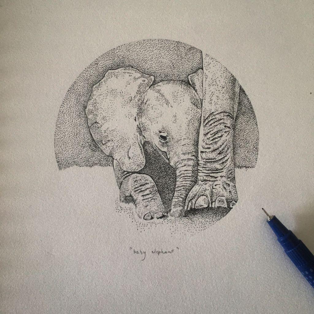 Baby elephant, a work in progress.. https://t.co/hzHGdWnu6L https://t.co/z2iGzE0UQu