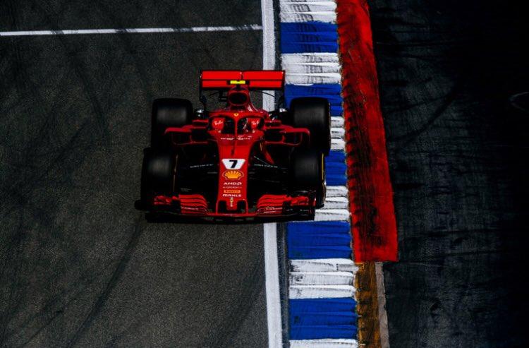 RT @ScuderiaFerrari: #Q1 results: ##Kimi7 P1 1:12.505 and #Seb5 P2 1:12.538 #GermanGP #Quali https://t.co/UNjHiOdbYc