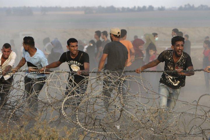 @BroadcastImagem: Após mortes na Faixa de Gaza no conflito de ontem, Israel e Hamas decidem cessar-fogo. Adel Hana/AP