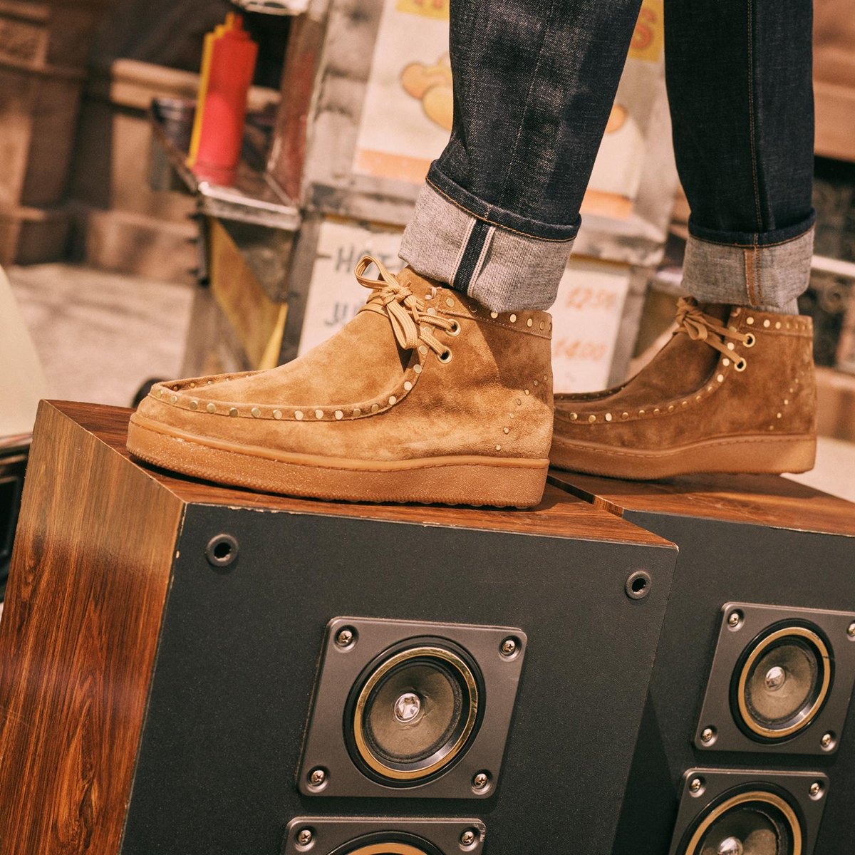Moccasin-inspired suede boots are like turning up the volume on your  favorite pair of 90448168024f
