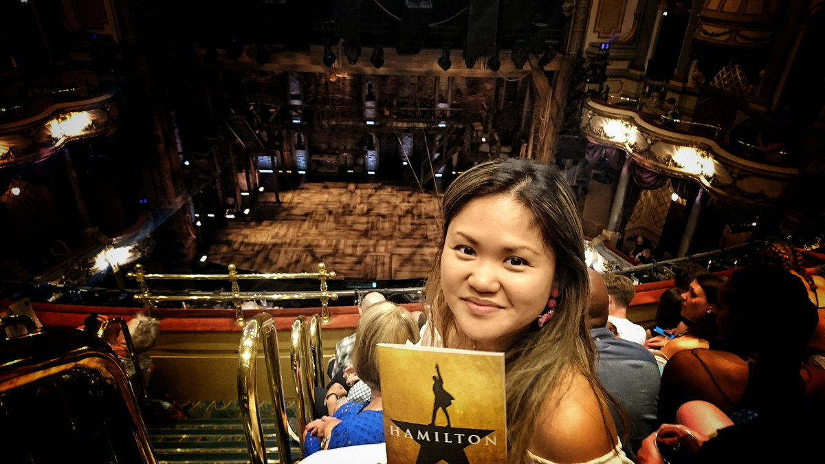 test Twitter Media - I'm finally here! @HamiltonMusical  😍   @VictoriaPalace https://t.co/hW5yZNeyrH