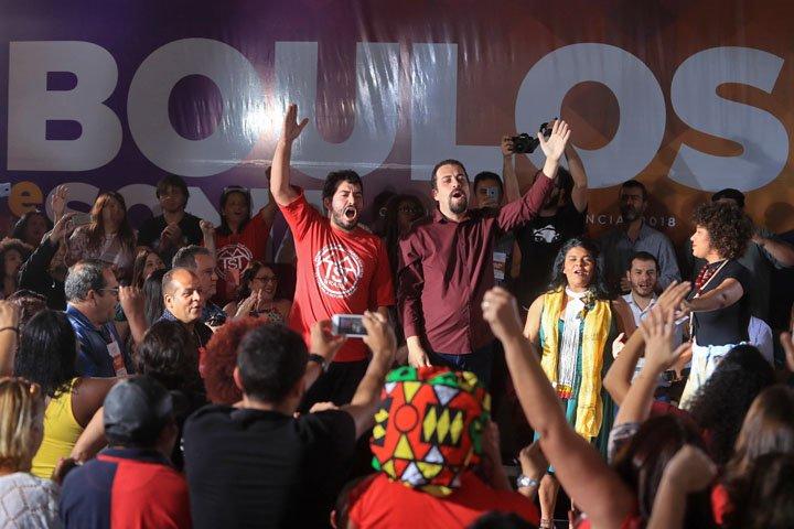 @BroadcastImagem: PSOL confirma Boulos como candidato à Presidência e Sônia Guajajara como vice. Gabriela Biló/Estadão