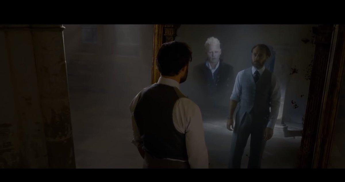 test Twitter Media - итак, в трейлере новых «Фантастических тварей» нам показали, что же на самом деле видел Дамблдор в зеркале Еиналеж. чего он тайно хотел:  чтобы Джонни Деппа РАЗОРВАЛО ПОПОЛАМ НАХОЙ при трагическом несчастном случае на производстве и Гриндевальда сыграл ПРИМЕРНО КТО УГОДНО ДРУГОЙ https://t.co/n3lpuq9RB9