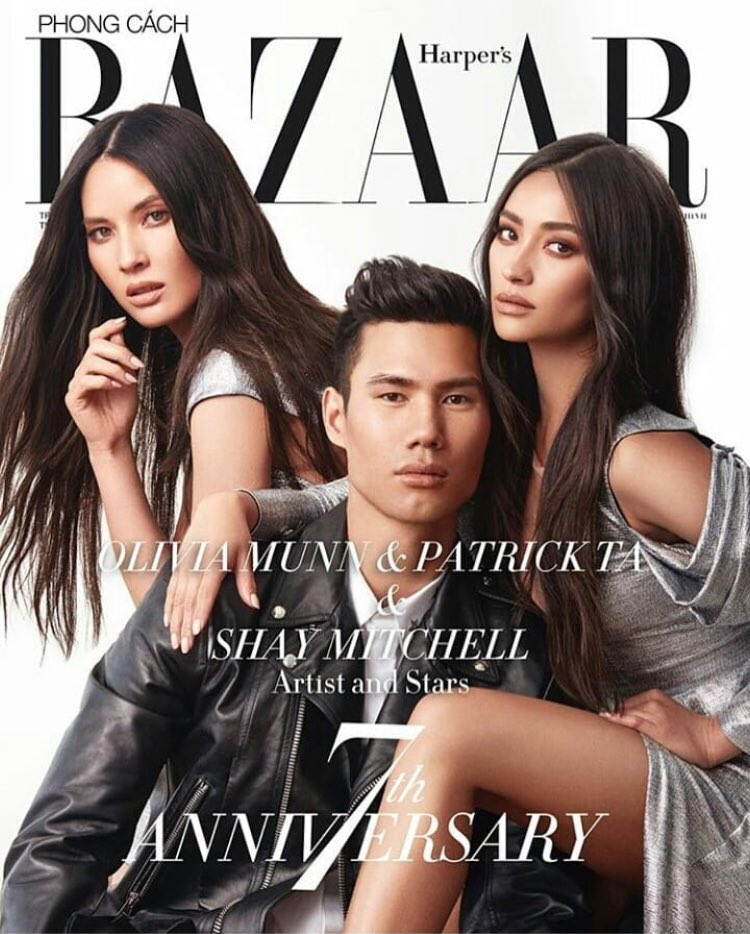 Harper's Bazaar Vietnam with these two Asian gems ❤️ #AsianPride https://t.co/JvluGzO1uv