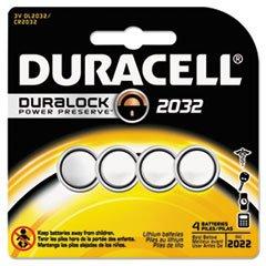 #2032 Duracell Duralock CR2032 Lithium Batteries 4 Pack - $5.93.....