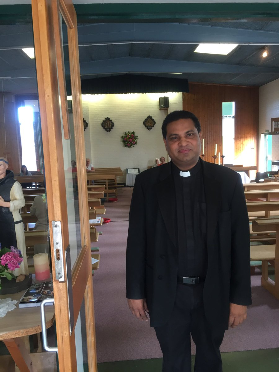 test Twitter Media - Pastoral Visitation today of Waterside Parish and it's two churches, St. Bernard's and St. Michael's. Here is the parish priest Fr. Rajesh! Please say a prayer for him - and for his father who died recently: RIP. https://t.co/xs9eKLPdek
