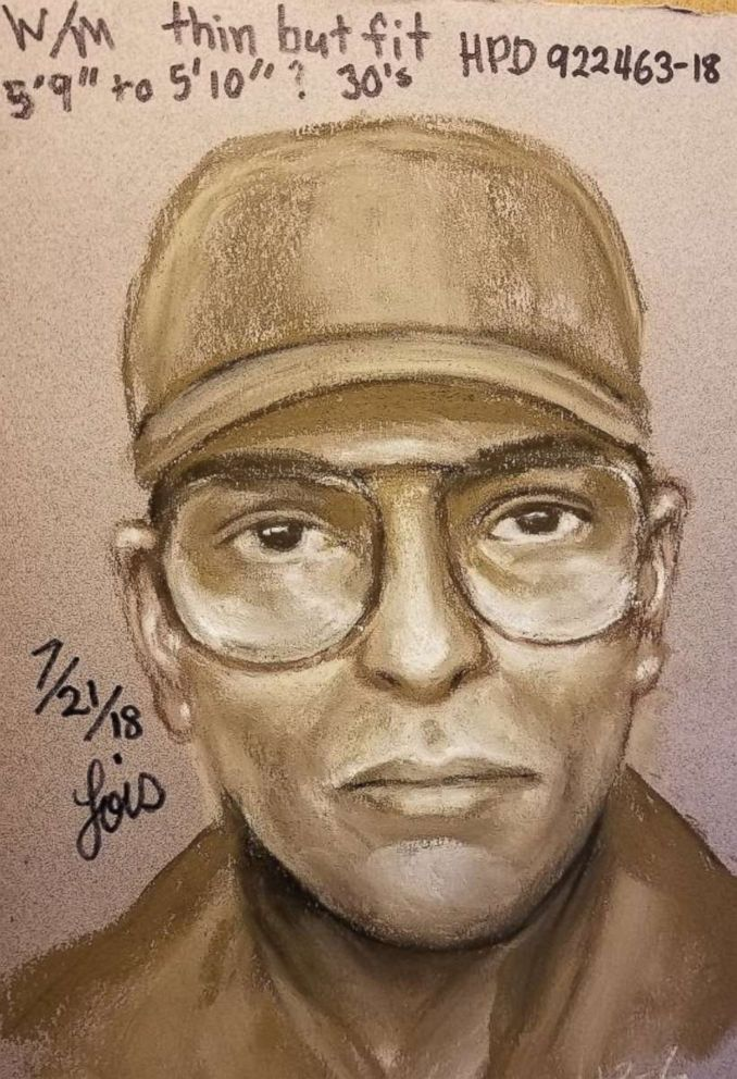 police release suspect sketch in fatal shooting of president george