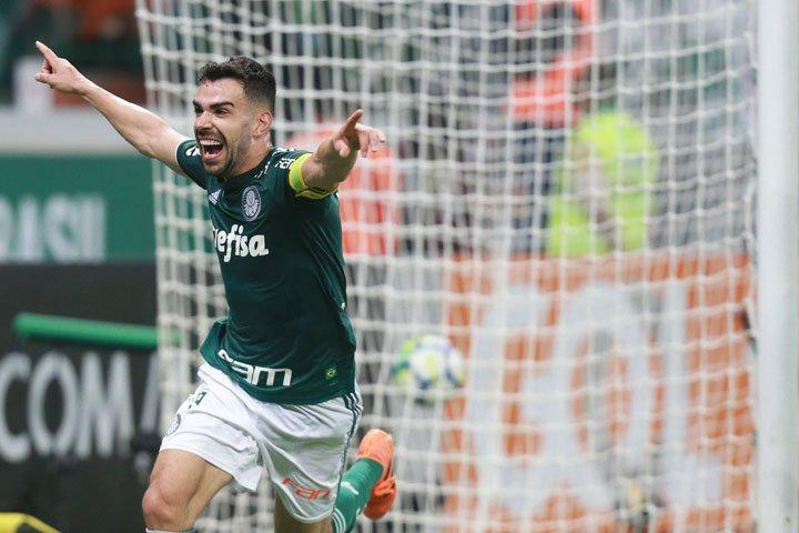 @BroadcastImagem: Com dois gols de Bruno Henrique, Palmeiras vence Atlético-MG por 3 a 2 no Brasileirão. Werther Santana/Estadão